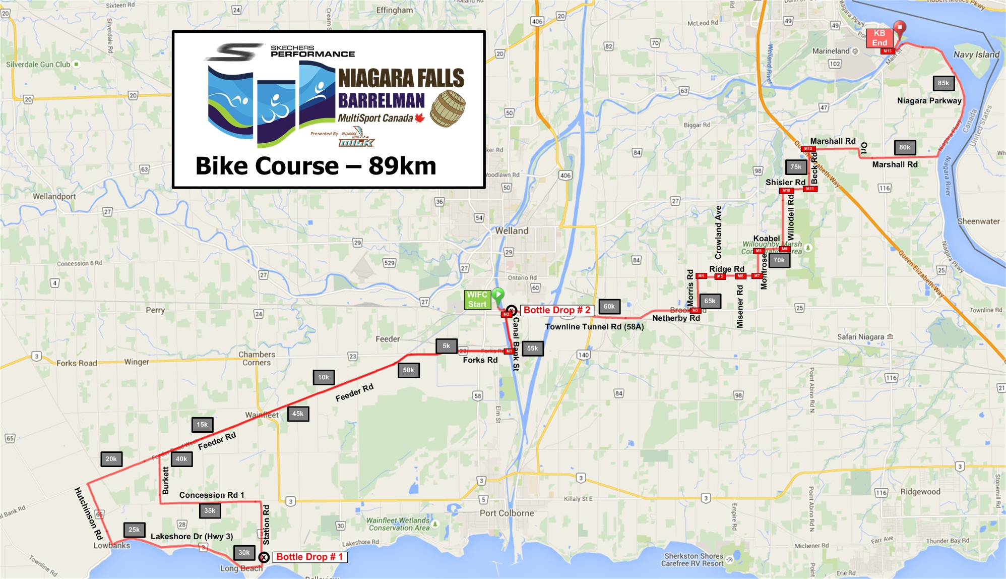 Course Details - Barrelman Niagara Falls